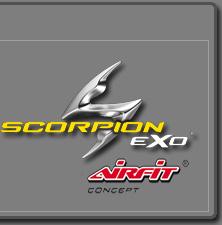 Info om Scorpions luftpumpsystem Airfit - Scorpionhjälmar.se