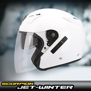 Klicka för att komma till Scorpions öppna vinterhjälmar